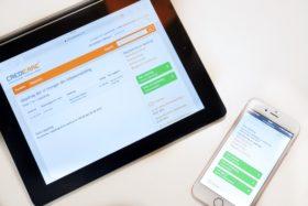 CrediCare Portal på alle digitale flater