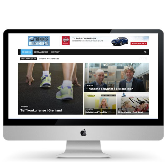 Treningsindustrien.no – din kilde til nyheter i treningsbransjen